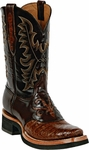 Mens Black Jack Boots Sport Rust Caiman Crocodile Belly Custom Boots 252