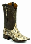 Ladies Black Jack Cainbreak Rattlesnake - Natural Custom Boots 671