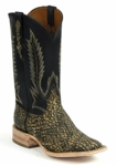 Ladies Black Jack Elephant - Antique Saddle Safari Custom Boots 853