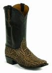 Ladies Black Jack Elephant - Vintage Rum Custom Boots 892
