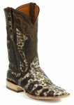 *NEW* Ladies Black Jack Python Snake Beige/Brown **LIMITED COLOR** Custom Boots 624