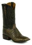 Mens Black Jack Caiman Belly - Chocolate Maddog Custom Boots 7119