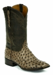 Mens Black Jack Full Quill Ostrich - Rio Grand Kango Custom Boots 976