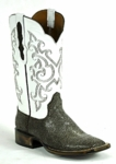 Mens Black Jack Sanded Stingray - Brown Custom Boots 750