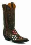 Women's Black Jack Boots Triad Jackie Design Ranch Hand Custom Boots 1490