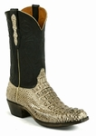 Women's BlackJack Boots Alligator Hornback Burnished Oyster Custom Boots 114
