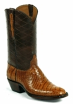 Womens Black Jack American Alligator Belly (Side Cut) Cigar #526