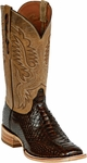 Womens Black Jack Boots Brown Python Snake Custom Boots 609