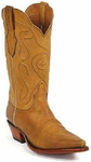 Womens Black Jack Boots Burnished Cognac Ranch Hand Custom Boots 404