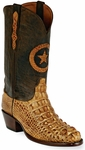 Womens Black Jack Boots Burnished Tan Hornback Alligator Custom Boots 180