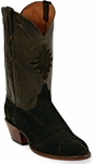 Womens Black Jack Boots Chocolate Hippo Custom Boots 570