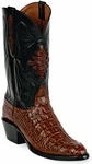 Womens Black Jack Boots Italian Red Hornback Alligator Custom Boots 111