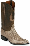 Womens Black Jack Boots Mink Hornback Alligator Custom Roper Boots 110