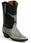 """<font color=""""red"""">*NEW STYLES ADDED*</font> Womens Black Jack Boots Ostrich Boots - 23 Styles"""