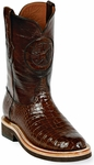 Womens  Black Jack Boots Sport Rust Alligator Belly Custom Roper Boots 138