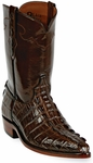 Womens Black Jack Boots Sport Rust Alligator Tail Custom Roper Boots 136