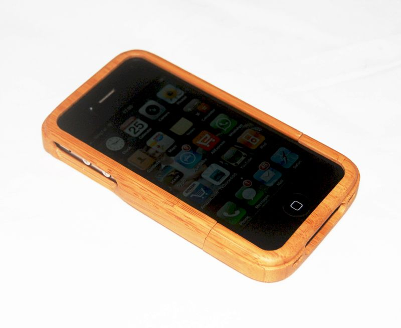 iphone 4 real bamboo wood case clearance sale. Black Bedroom Furniture Sets. Home Design Ideas