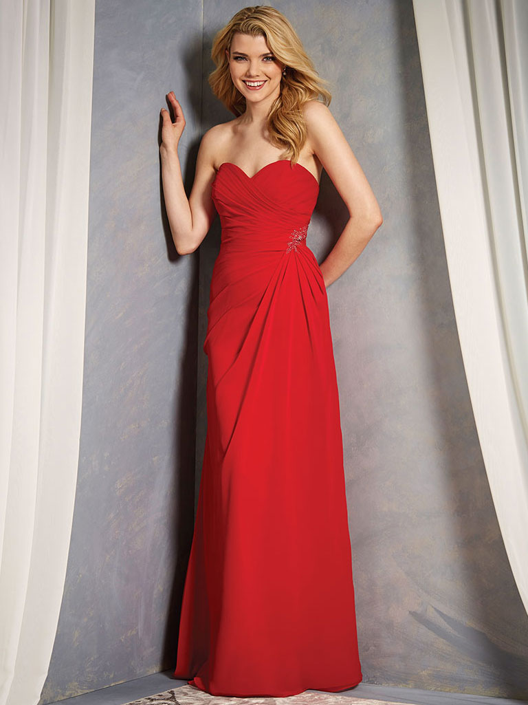 Alfred angelo 7367l chiffon floor length bridesmaid dress alfred angelo 7367l sweetheart bridesmaid dress ombrellifo Gallery