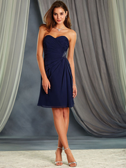Alfred Angelo 7367S Sweetheart Bridesmaid Dress