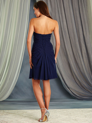 Alfred Angelo 7369L One Shoulder Bridesmaid Dress
