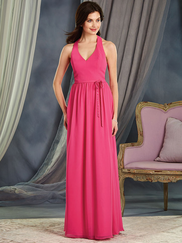 Alfred Angelo 7370L V-neck Bridesmaid Dress