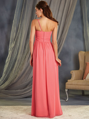 Alfred Angelo 7370S V-neck Bridesmaid Dress