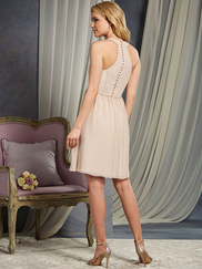 Alfred Angelo 7372L Halter Bridesmaid Dress