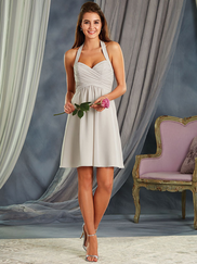 Alfred Angelo 7372S Halter Bridesmaid Dress