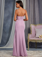 Alfred Angelo 7375S V-neck Bridesmaid Dress