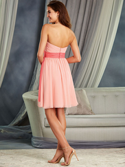 Alfred Angelo 7378L Strapless Bridesmaid Dress