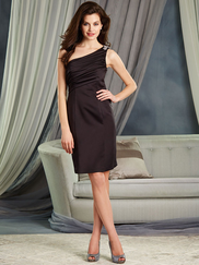 Alfred Angelo 7379S One Shoulder Bridesmaid Dress