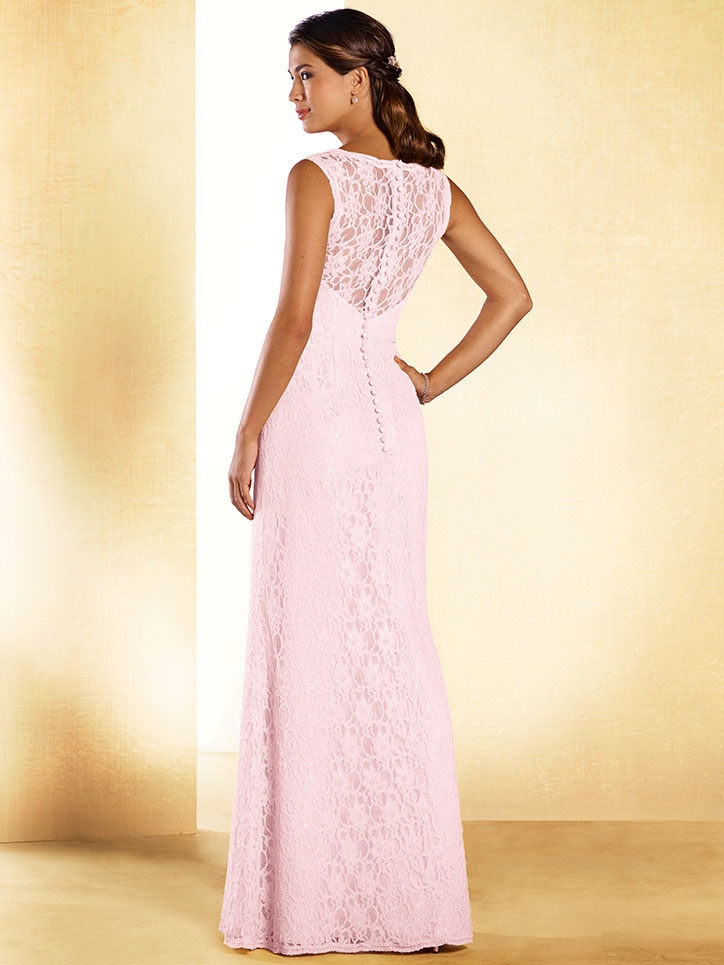Alfred Angelo Disney 537 Lace Sweetheart Bridesmaid Dress ...