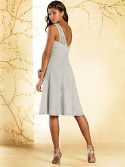 Alfred Angelo Disney 539 Short Bridesmaid Dress