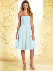 Alfred Angelo Disney 540 Strapless Bridesmaid Dress