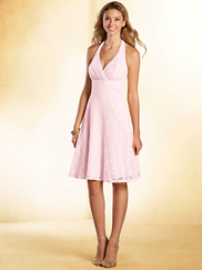 Alfred Angelo Disney 541 Halter Bridesmaid Dress