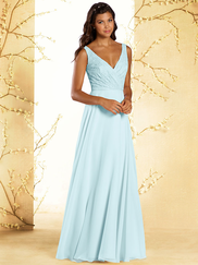 Alfred Angelo Disney 542 V-neck Bridesmaid Dress