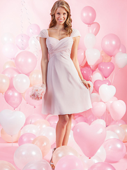 Alfred Angelo Love 7385S Sweetheart Bridesmaid Dress