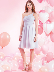 Alfred Angelo Love 7388S One Shoulder Bridesmaid Dress