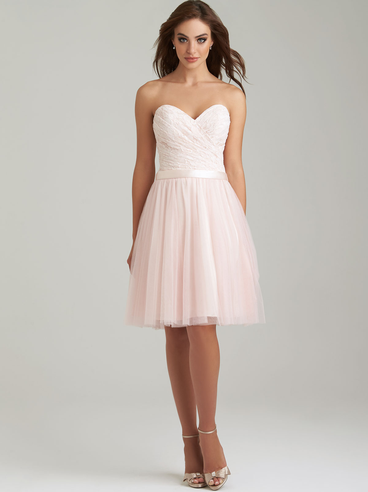 Allure 1451 sweetheart short bridesmaid dressdimitradesigns allure 1451 sweetheart bridesmaid dress ombrellifo Images