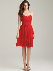 Allure 1458 Sweetheart Bridesmaid Dress
