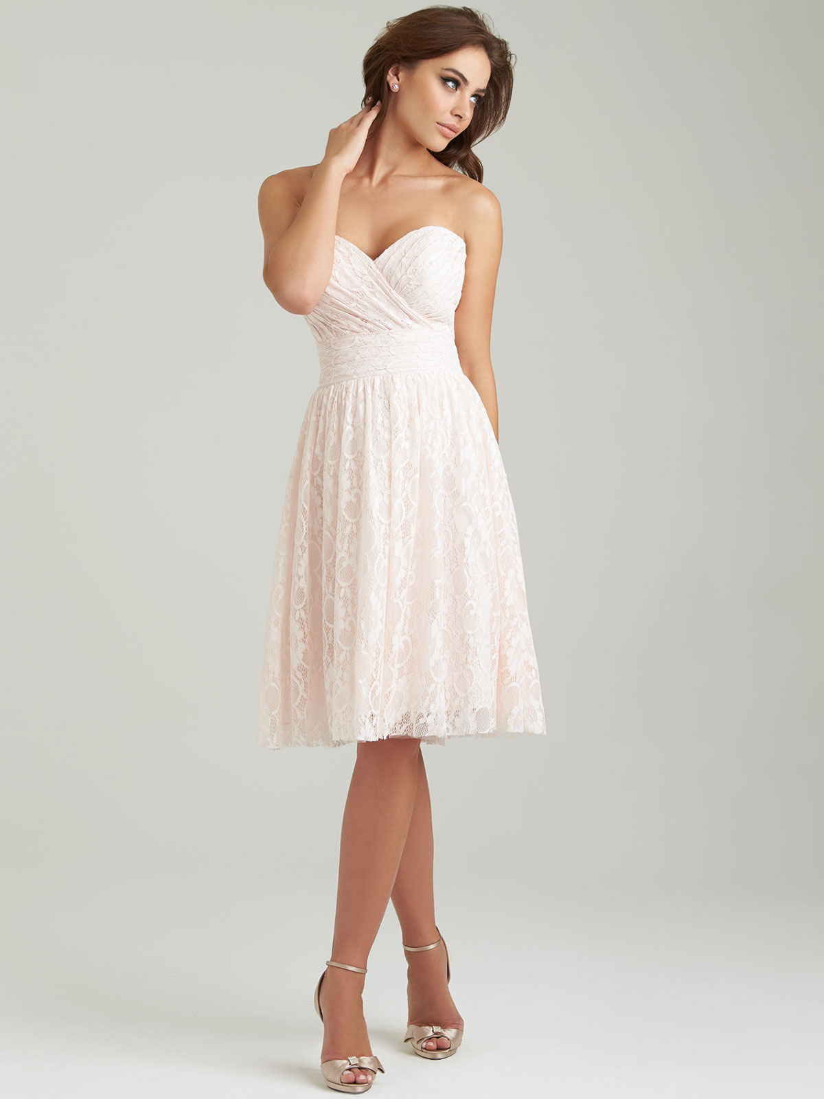 Allure 1458 sweetheart short a line bridesmaid dress allure 1458 sweetheart bridesmaid dress ombrellifo Choice Image