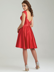 Allure 1459 Cap Sleeves Bridesmaid Dress