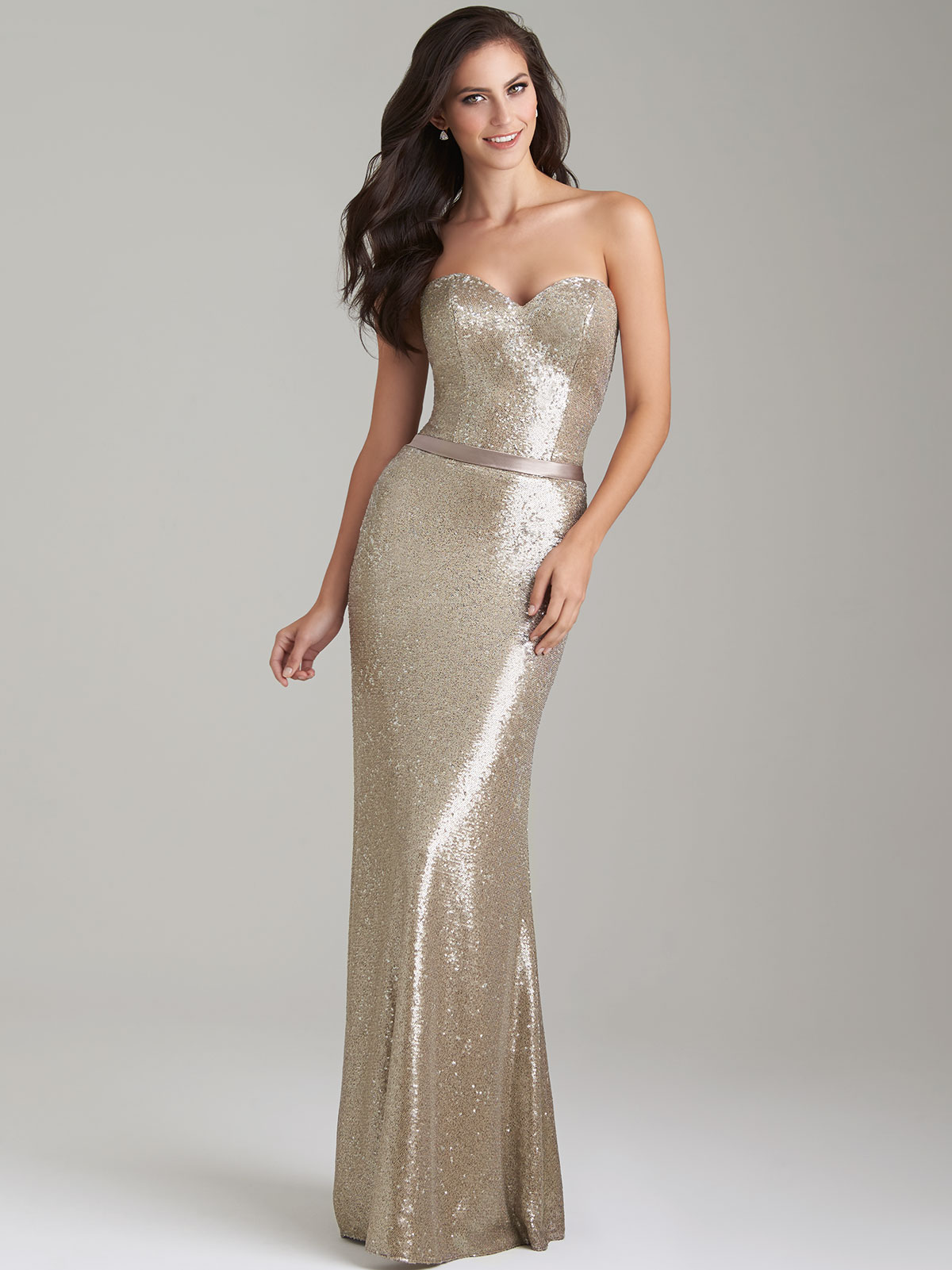 Allure 1471 sequin sweetheart bridesmaid dressdimitradesigns allure 1471 sweetheart bridesmaid dress ombrellifo Images