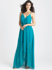 Allure 1500 V-neck Bridesmaid Dress