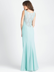 Allure 1501 V-neck Bridesmaid Dress