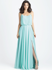 Allure 1502 Scoop Neckline Bridesmaid Dress