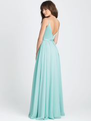 Allure 1503 V-neck Bridesmaid Dress