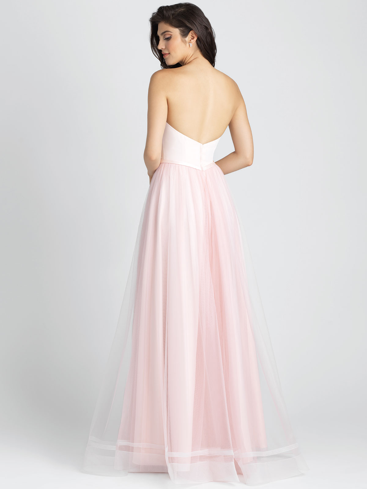 Allure 1509 sweetheart a line bridesmaid dressdimitradesigns tulle a line allure bridesmaid dress 1509 ombrellifo Images