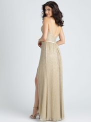 Allure 1515 V-neck Bridesmaid Dress