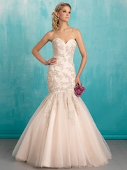 Allure 9300 Sweetheart Beaded Bridal Dress